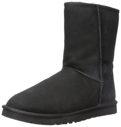 ugg-classic-short-botas-para-mujer-color-negro-talla-36
