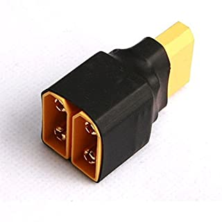 Bluelover AMASS XT90 2 Male to 1 Female Parallel Plug Connector AMMC06