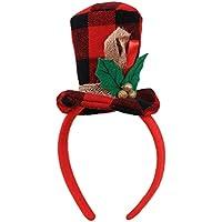 BESTOYARD Mini Cappello a Fascia per Capelli Cappello Natalizio Fascia per  Capelli Natalizi per Bambini Accessori per Feste Natalizie 030ffe7b76d2