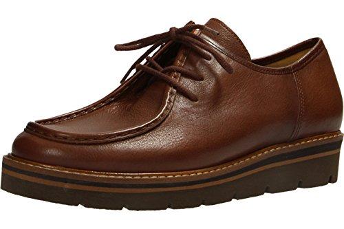 Gabor  51.471.22, Chaussures de ville à lacets pour femme Marron