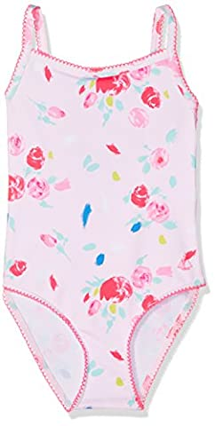 Petit Bateau Girl's Fepia Swimsuit, Multicoloured (Vienne/Multico), 3 Years