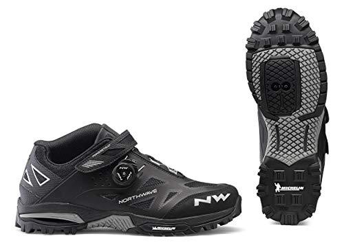 Northwave Enduro Mid MTB Fahrrad Schuhe schwarz 2019: Größe: 41