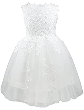 Blumenmädchen Kleider Mädchen Kinder Festlich Hochzeits Kleid Prinzessin Brautjungfern Partykleider Festzug