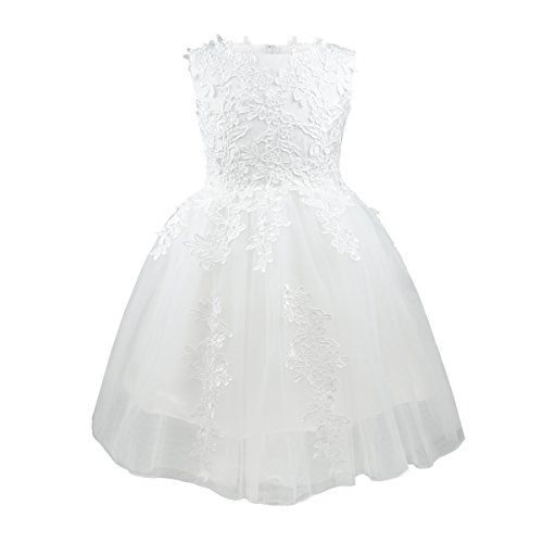girls-flower-dresses-sleeveless-tulle-wedding-pageant-bridesmaid-christening-princess-kids-lace-ivor
