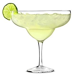 bar@drinkstuff Giant Margarita Glass 1.3ltr - Giant Cocktail Sharer Glass for Decorative Drinks and Centrepieces