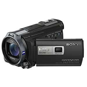 Sony HDR-PJ740 Full-HD-Camcorder (24 Megapixel, 7,6 cm (3 Zoll) Display, 32GB int. Flash-Speicher, bildstabilisiert) schwarz