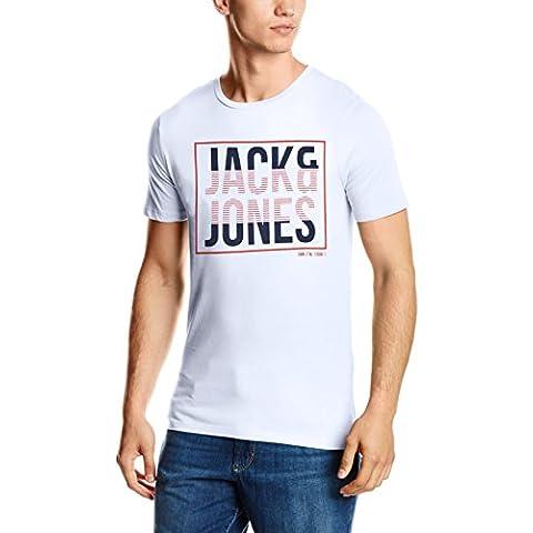 JACK & JONES Jcobooster Tee Ss Crew Neck 05, T-Shirt Uomo