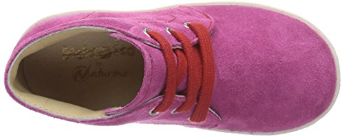 Naturino FALCOTTO 1195 Sneaker Bambina Multicolore (Mehrfarbig (FUXIA CUC + LACCI ROSSO))