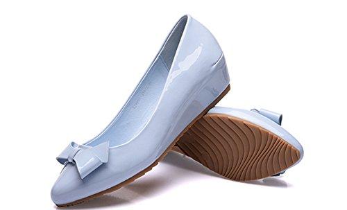XTIAN , chaussons d'intérieur femme Bleu