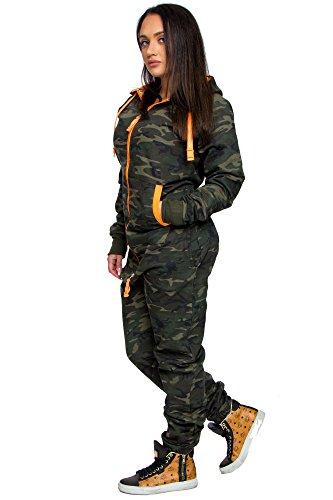 Amaci Damen Overall Jumpsuit Onesie Jogging Sportanzug Trainingsanzug  Jogginganzug 3001D 522dab215c