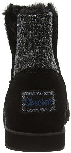 Skechers Keepsakespeekaboo, Bottes mi-hauteur avec doublure chaude femme gris (LGOR)