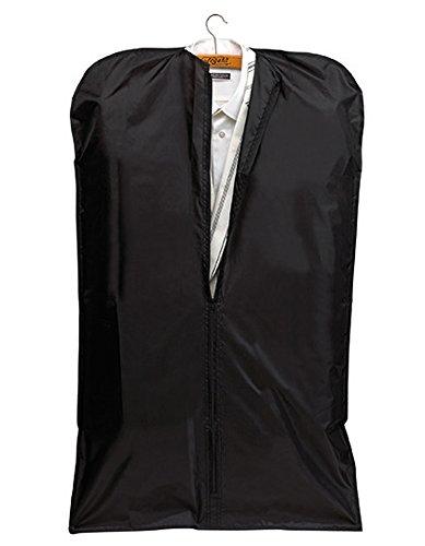 LOT de 10 Housses rangement stockage vêtements - NT206 - polyester coloris noir