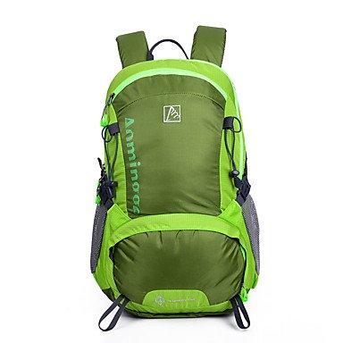 30 L Rucksack Klettern Freizeit Sport Camping & Wandern Wasserdicht Staubdicht tragbar Multifunktions Green