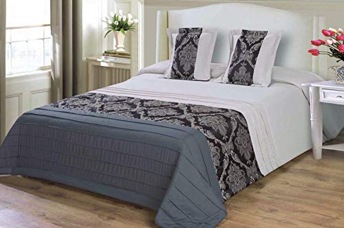 mercatohouse – Couvre-lit bouti Comforter Premium Jacquard 200gr – Claire (lit – 150)