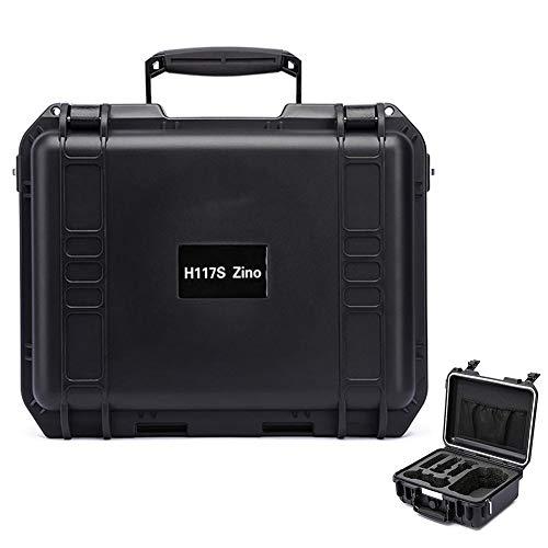applyvt Für Habosen Hubsan Zino H117S 4 Karat Version klapp Drone Aufbewahrungstasche Koffer wasserdicht explosionsgeschützte Box