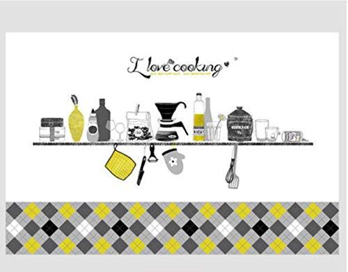 Küche Dekoration ölbeständige Aufkleber Herd wasserdicht und ölbeständig Dunstabzugshaube Fliese 3d 88 * 58cm