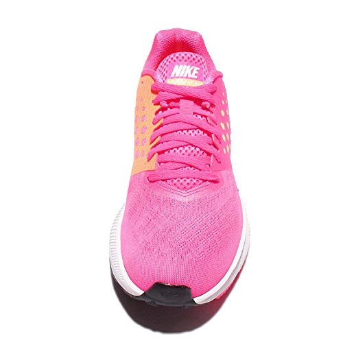 Nike Zoom Span W, Chaussures de Running Compétition Femme Hyper Pink/White-pink Blast-pe