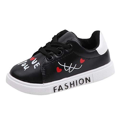 Alwayswin Baby Jungen Mädchen Sneakers Mode Freizeitschuhe Flache Schuhe Bequem Schnürschuhe Boots Beiläufige Sport Turnschuhe Outdoor rutschfest Sportschuhe Student Schuhe