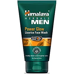 Himalaya MEN Power Glow Licorice Face Wash, 100ml
