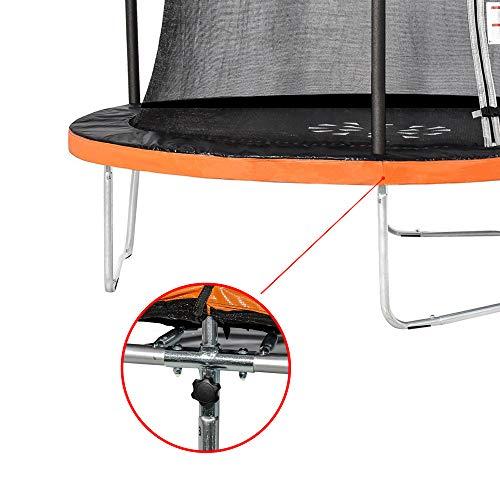 Zoom IMG-3 greaden trampolino da giardino rotondo