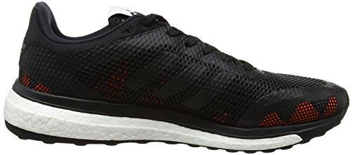 adidas Response+, Chaussures de Running Compétition Homme Noir (Grey Four F17/core Black/solar Orange)