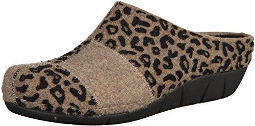Berkemann - Pantofole Donna Beige (Beige Patch)