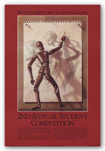RSVP concorso Student 2, 1983by Birney Lettick Art Print