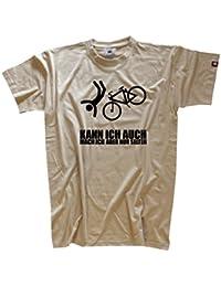 Mountain Bike Kann ich auch - mach ich aber selten - echter Siebdruck, kein Billigflex (Motiv als T-Shirt, Girlie, Kids, Longsleeve oder Hoody)