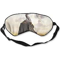 Sleep Eye Mask Wolf Landscape Lightweight Soft Blindfold Adjustable Head Strap Eyeshade Travel Eyepatch preisvergleich bei billige-tabletten.eu