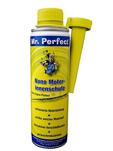 Mr. Perfect® Nano Protection intérieur pour Moteurs, Additif pour huile, Moteur additif d'étanchéité - 250 ml