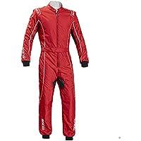 Sparco 002334RSBI140 Mono para Karting, Rojo/Blanco, 140