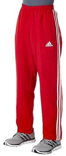 adidas Herren T16 Team Hose, Rot/Weiß, M