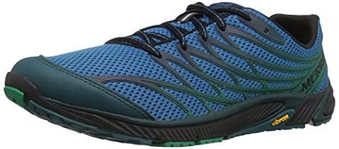 Merrell Bare Access 4, Chaussures de Trail Homme, Bleu (Mykonos