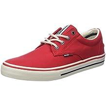 Hilfiger Denim Mens Textile Low-Top Sneakers Tommy Jeans KoyqsYK