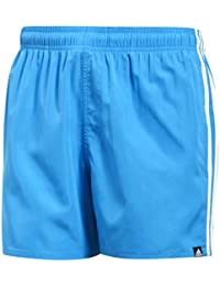 adidas Men's 3-Stripes Swim Shorts