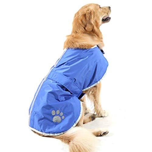 Fashion Shop Nor 'easter Decke Coat für Hunde (L, blau) -