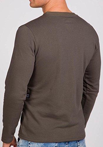 ... BOLF Herren Sweatshirt Langarmshirt Pullover Longsleeve Classic Mix 1A1  Motiv Khaki 9096 ... 3c91ec8682