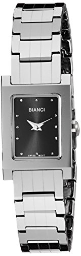 ROBERTO BIANCI WATCHES Women's 'Classico' Swiss Quartz Stainless Steel and Tungsten Casual Watch, Color:Silver-Toned (Model: RB90631)