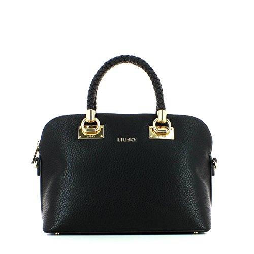 LIU JO ANNA SHOPPING BAG N66082E0011-22222 Black