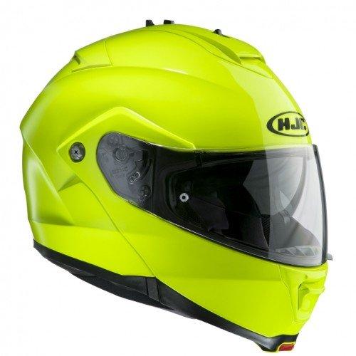 HJC Motorradhelm IS Max II Grün Neon, Gelb, Größe L