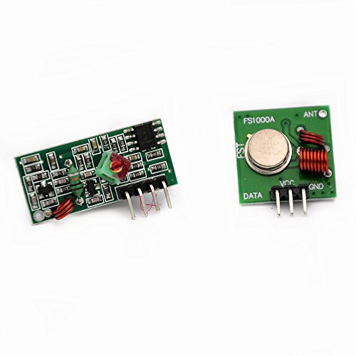 CENTIoT 433 Mhz RF Transmitter and Receiver kit for Arduino