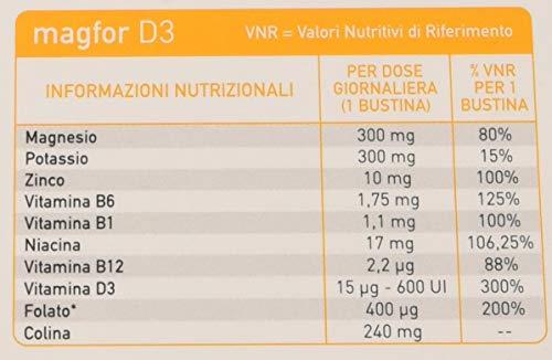 Pharma Mum Italia Magfor D3 - 14 bustine