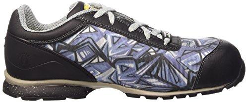 Diadora D-399 Textile Low S1p Hro Src, Chaussures de Sécurité Mixte Adulte Multicolore (C2368 Grigio/Blu)
