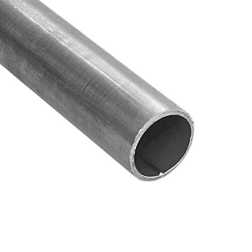 Stahlrohr / Rundrohr geschweißt - schwarz - 1 1/2