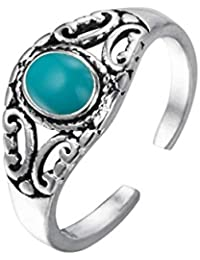bea4d01f3e4b Amazon.es  anillos plata mujer - Turquesa  Joyería
