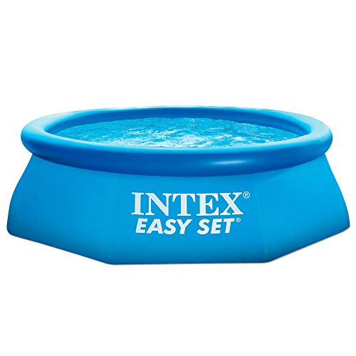 Intex 28110NP - Piscina hinchable, 2.419 litros, 244 x 76 cm