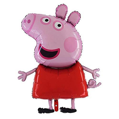 GUIZMAX Ballon Peppa Pig XXL hélium New fête