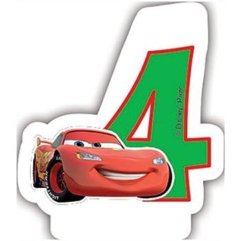 4 drapeaux à damiers Disney Cars 2