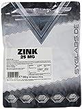 Syglabs Nutrition Zink 25 mg Elementargehalt - 500 Tabletten - 1000 Portionen, 1er Pack (1 x 350 g)