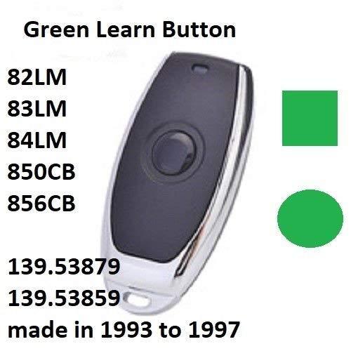 Craftsman Garagentoröffner, Mini-Fernbedienung, mit grünem Lernknopf Clicker-sender
